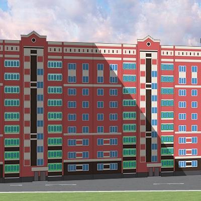 Строительство жилого дома в пгт. Медведево улица Полевая (поз.12)