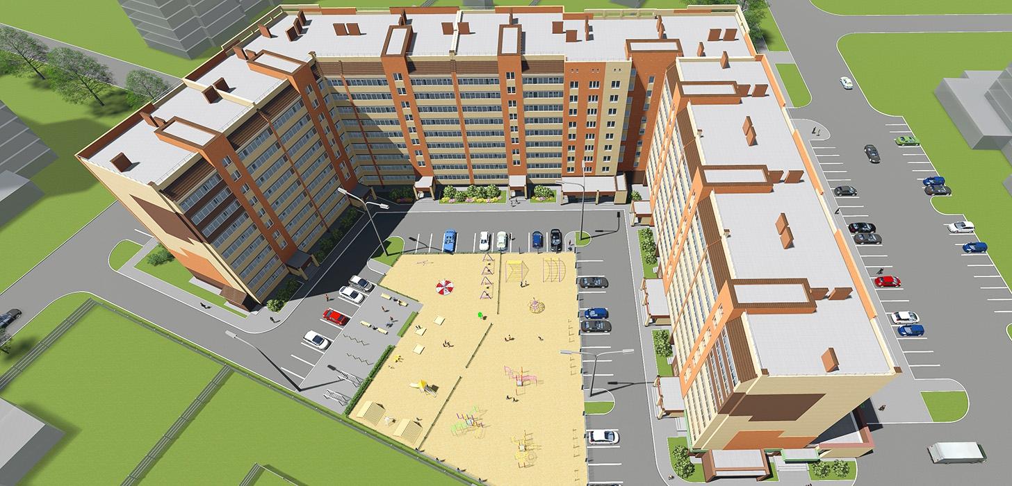 Строительство жилого дома на улице Анникова